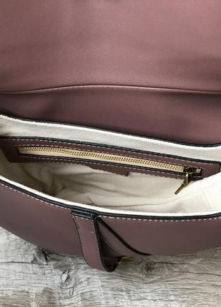 Женская модная сумка седло6 фото