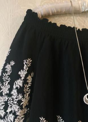 Шикарная блуза со спущенными плечами4