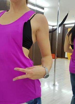 Женская спортивная майка для фитнеса, йоги, бега, одежда в спортзал. код:2201062