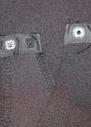 Черное боди, комбидрес c фигурным вырезом от new look размер uk 8/s5
