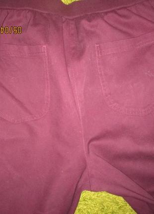 18*брюки как джинсы на резинке,пот- можно и 44-47-55см2