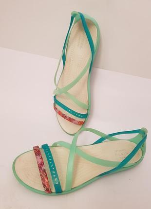 Crocs! классные брендовые силиконовые босоножки1