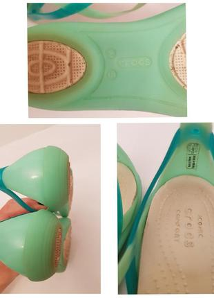 Crocs! классные брендовые силиконовые босоножки6