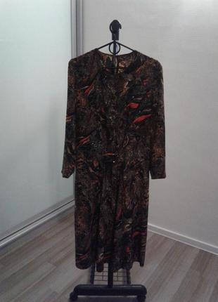 Красивое платье, размер 12