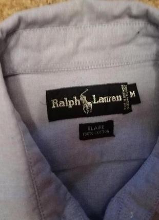 Котоновая рубашка ralph lauren3