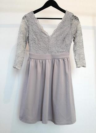 Романтическое платье с кружевом2