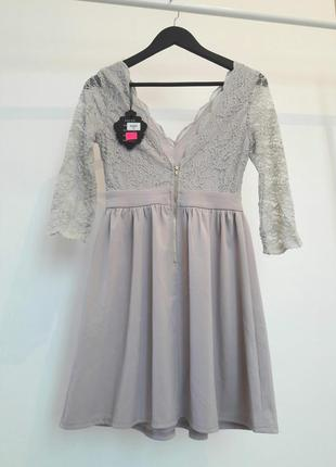 Романтическое платье с кружевом3
