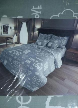 Пакистан! двуспальный постельный комплект- расцветки в ассортименте !!!