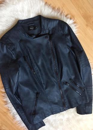 Куртка-косуха из искусственной кожи only2
