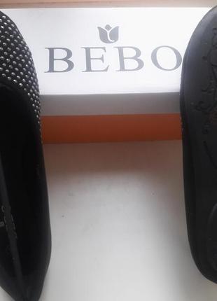 Bebo, балетки с диамантами, uk 5 новые.8