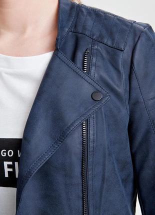 Куртка-косуха из искусственной кожи only4