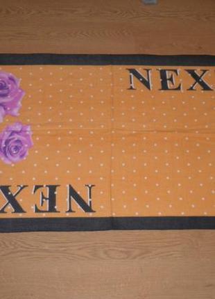 Нежный теплый элегантный качественный кашемировый платок шарф next lvl 185х70см4