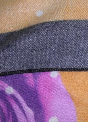 Нежный теплый элегантный качественный кашемировый платок шарф next lvl 185х70см8