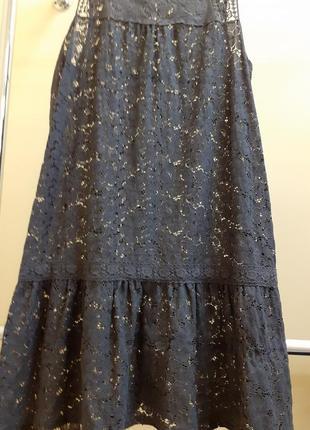 Гипюровое платьице4