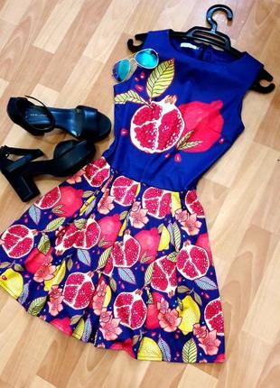 Класна сукня з фруктами)2
