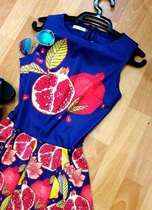 Класна сукня з фруктами)3