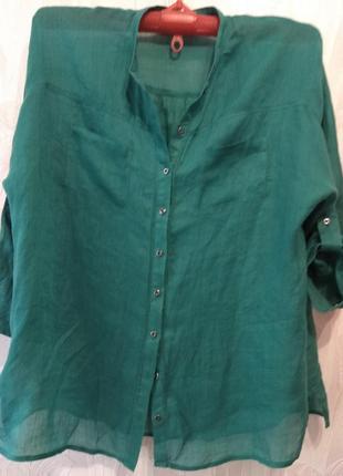 Лёгкая блуза из натуральной ткани7