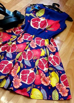 Класна сукня з фруктами)5