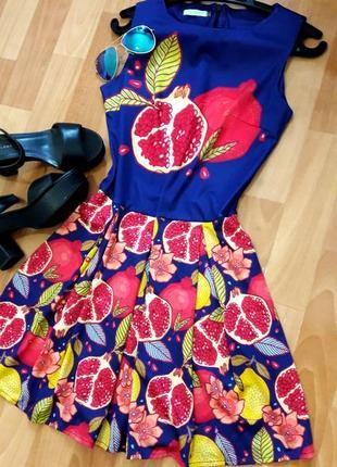 Класна сукня з фруктами)7