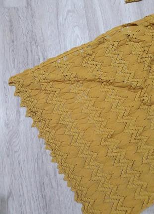 Ажурное, кружевное платье от zara knit2