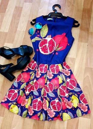 Класна сукня з фруктами)9