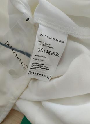 Отличная белая блуза от warehouse3