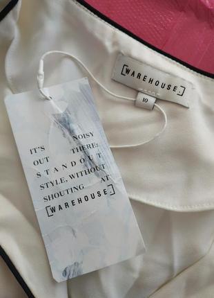 Отличная белая блуза от warehouse4