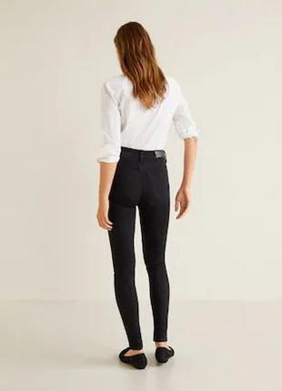 Базовые джинсы скинны высокая посадка от mango3