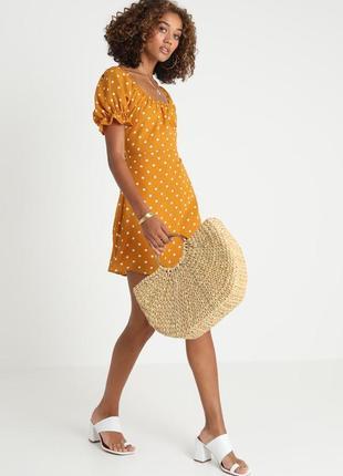 Жіночна сукня в горохи2