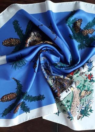 Шикарный  платок st.moritz винтаж5