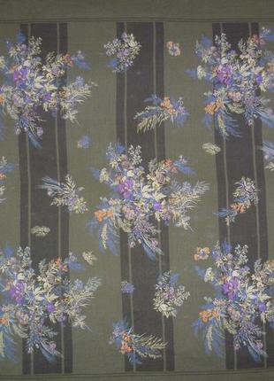 Платок шелковый итальянский gianni versace, подписной платок жіноча хустка2