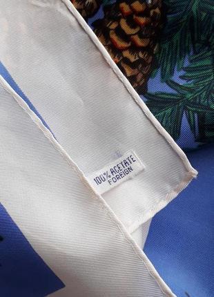 Шикарный  платок st.moritz винтаж7