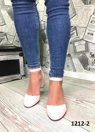 Эксклюзивные открытые туфли из натуральной турецкой кожи2
