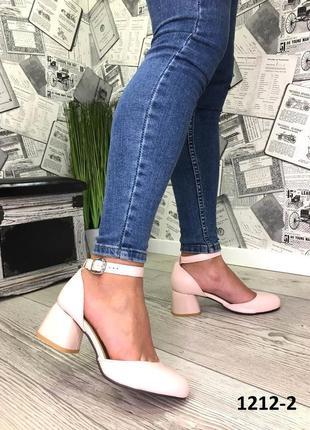Эксклюзивные открытые туфли из натуральной турецкой кожи3