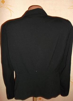Распродажа пиджаков черный классика  на одной пуговице р.l - h&m4 фото