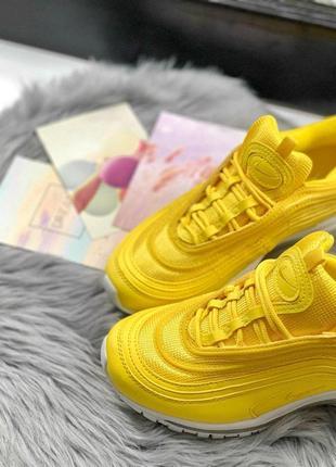 Шикарные женские кроссовки nike air max 97 yellow 😍 (весна/ лето/ осень)4