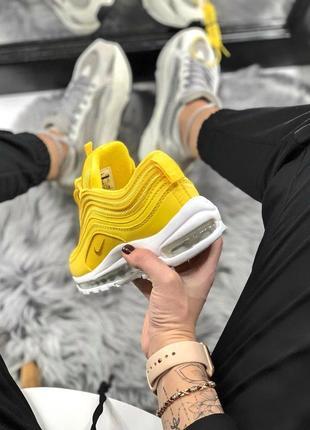 Шикарные женские кроссовки nike air max 97 yellow 😍 (весна/ лето/ осень)5