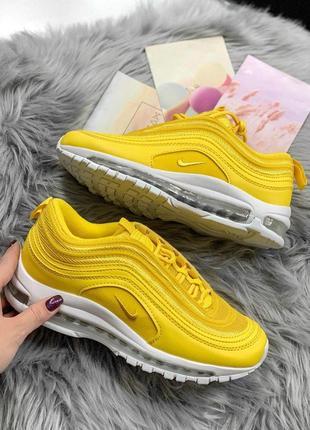 Шикарные женские кроссовки nike air max 97 yellow 😍 (весна/ лето/ осень)7