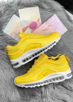 Шикарные женские кроссовки nike air max 97 yellow 😍 (весна/ лето/ осень)9