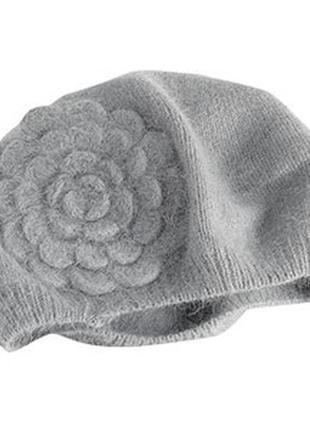 Красивая шапка берет