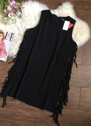 Шикарное платье с бахромой6
