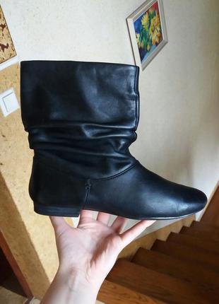 Р.37-37.5 clarks (оригинал) кожаные полусапоги, ботинки.1