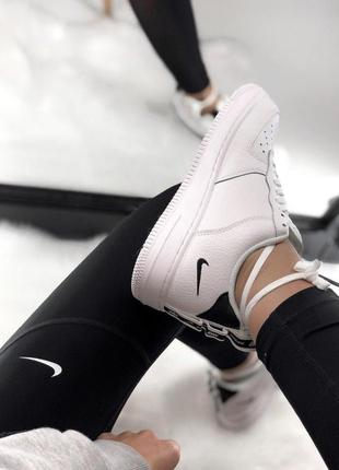 Шикарные кроссовки nike air force 1 low white 😍 (весна/ лето/ осень), (женские/ мужские)8