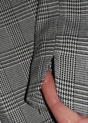 Классические брюки в клетку р. 14  xl9