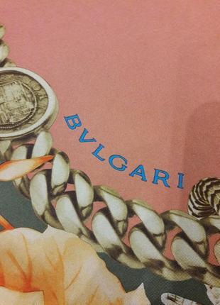 Шелковый платок bvlgari.4