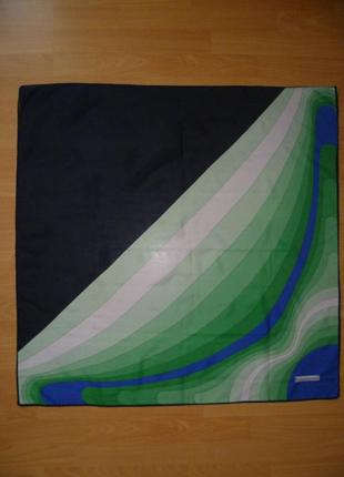 Платок подписной, фирмовый franco laurenti 85х85, хустка, косынка2