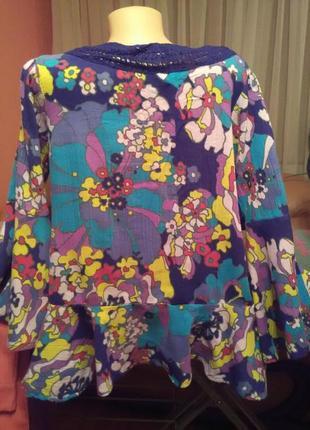 Стильная блуза с принтом4