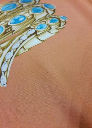 Шелковый платок bvlgari.7