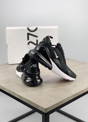 Шикарные кроссовки nike air max 270 black 😍 (весна/ лето/ осень), (женские/ мужские)3