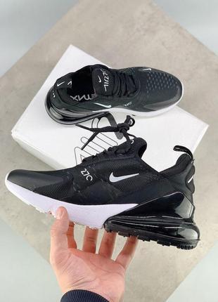 Шикарные кроссовки nike air max 270 black 😍 (весна/ лето/ осень), (женские/ мужские)6